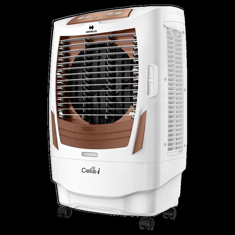 Havells Celia-i 55 litre Desert Air Cooler (GHRACAXK220, White)_1
