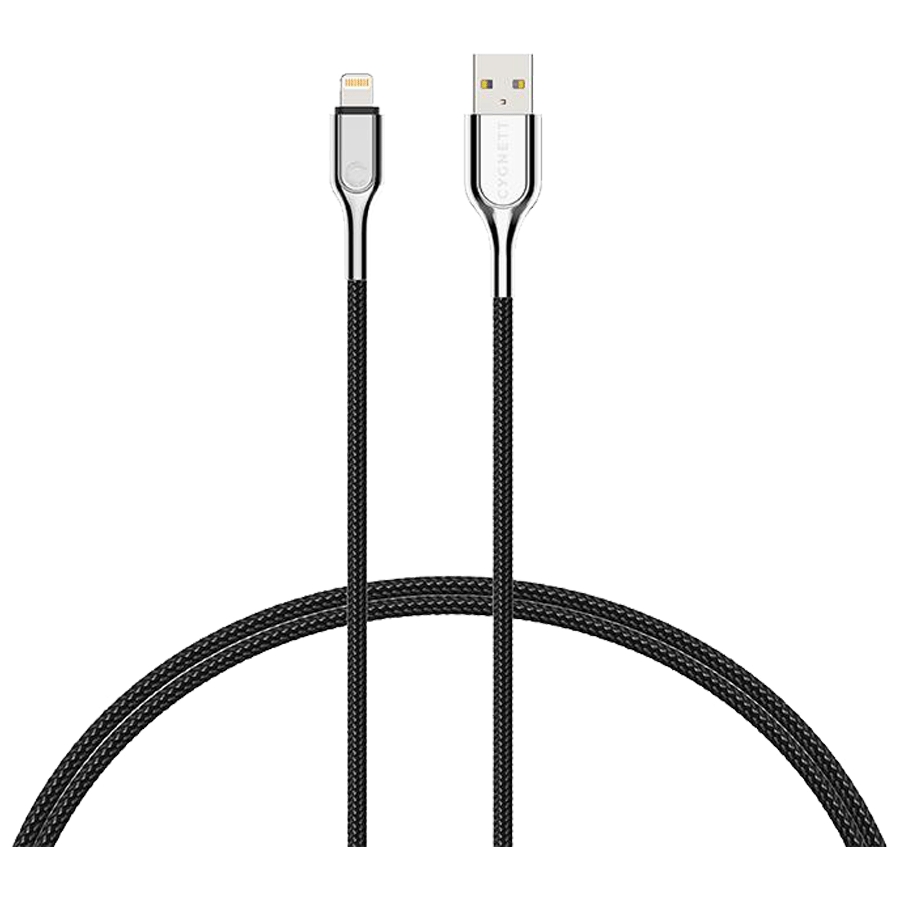 Cygnett 200 cm USB (Type-A) to Lightning Cable (CY2670PCCAL, Black)_1