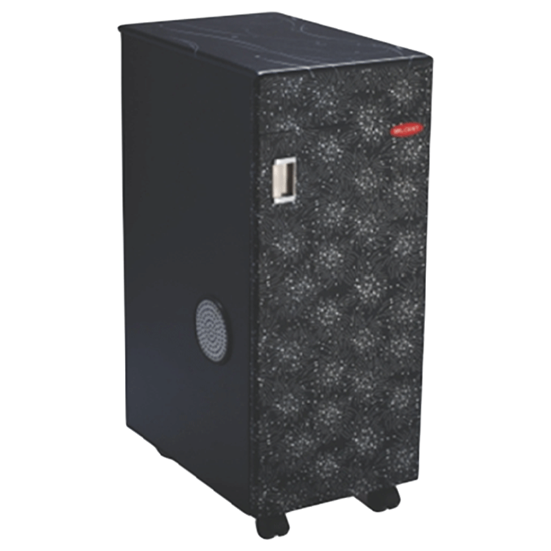 Milcent Whisper Flourmill (Super TVC 210, Black)
