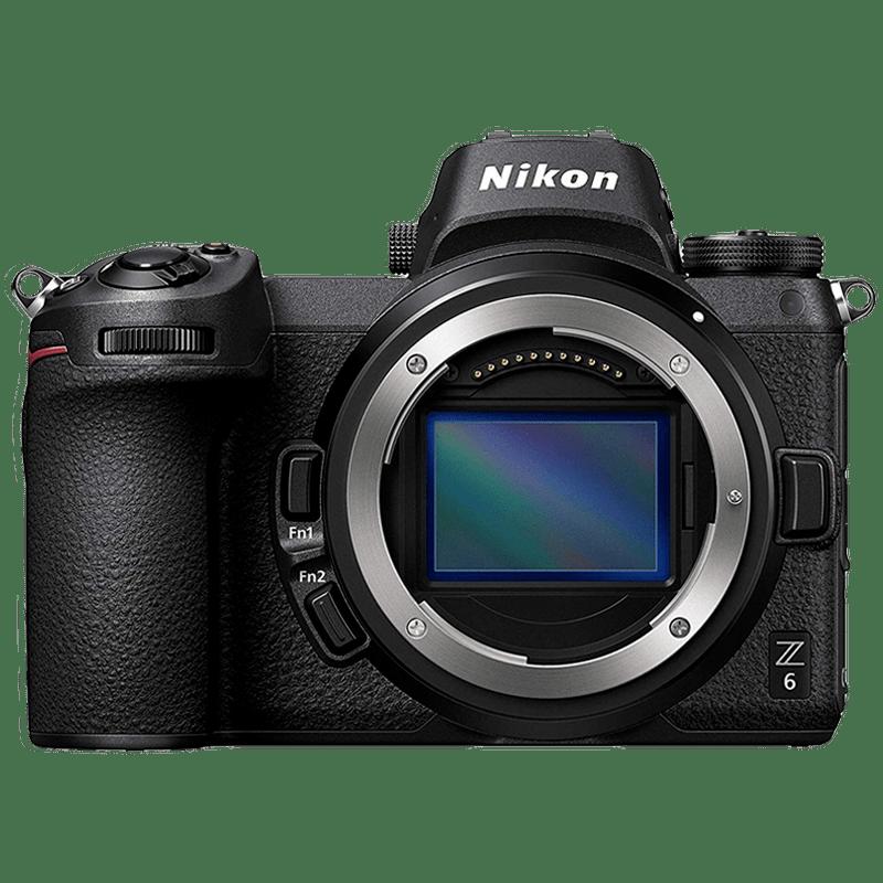 Nikon Z6 24.5 MP Mirrorless Camera (Body Only) (VOA020AN, Black)_1