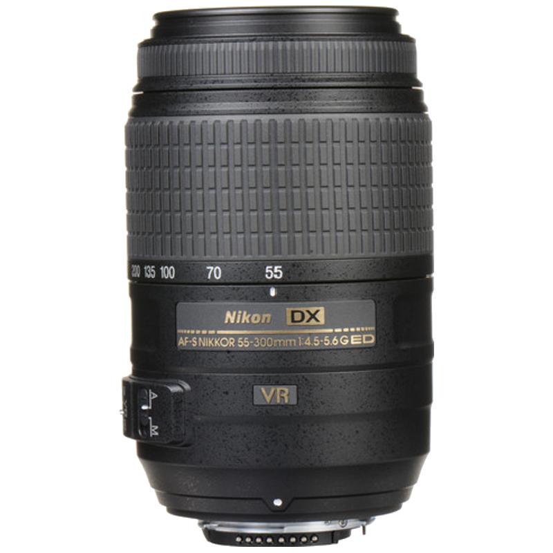Nikon 55-300 mm F4.5-F5.6 VR Zoom Lens (JAA814DA, Black)_1