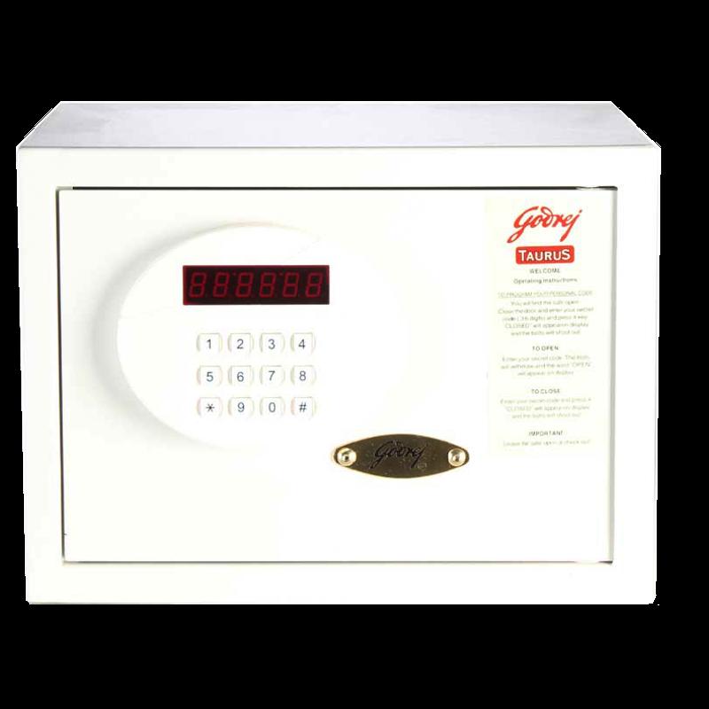 Godrej Taurus Safety Locker (SEEC0100, Ivory)_1