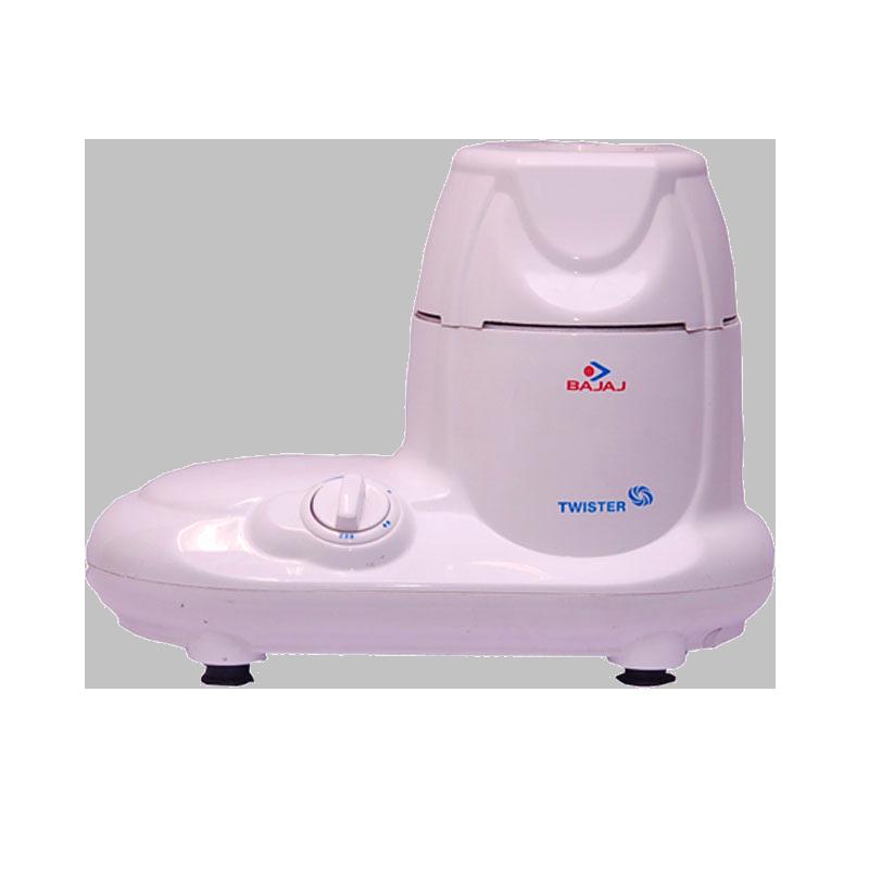 Bajaj 750 Watt Mixer Grinder (Twister, White)_1