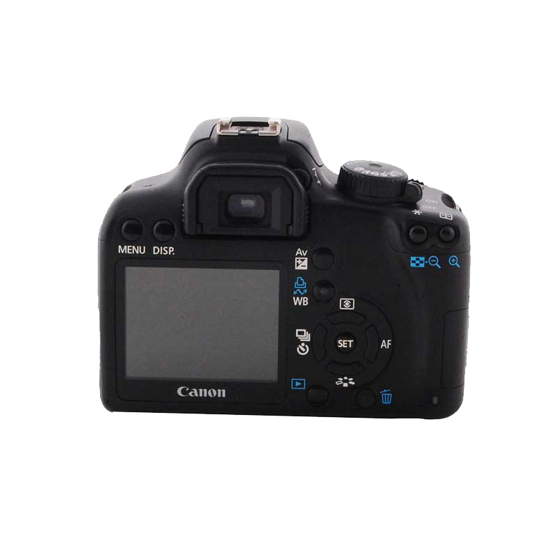 Canon 10.1 MP DSLR Camera Body with 18 - 55 mm Lens (EOS 1000D, Black)_1