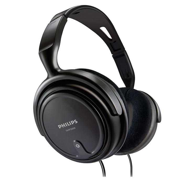 Philips SHP2000/97 Headphones (Black)_1