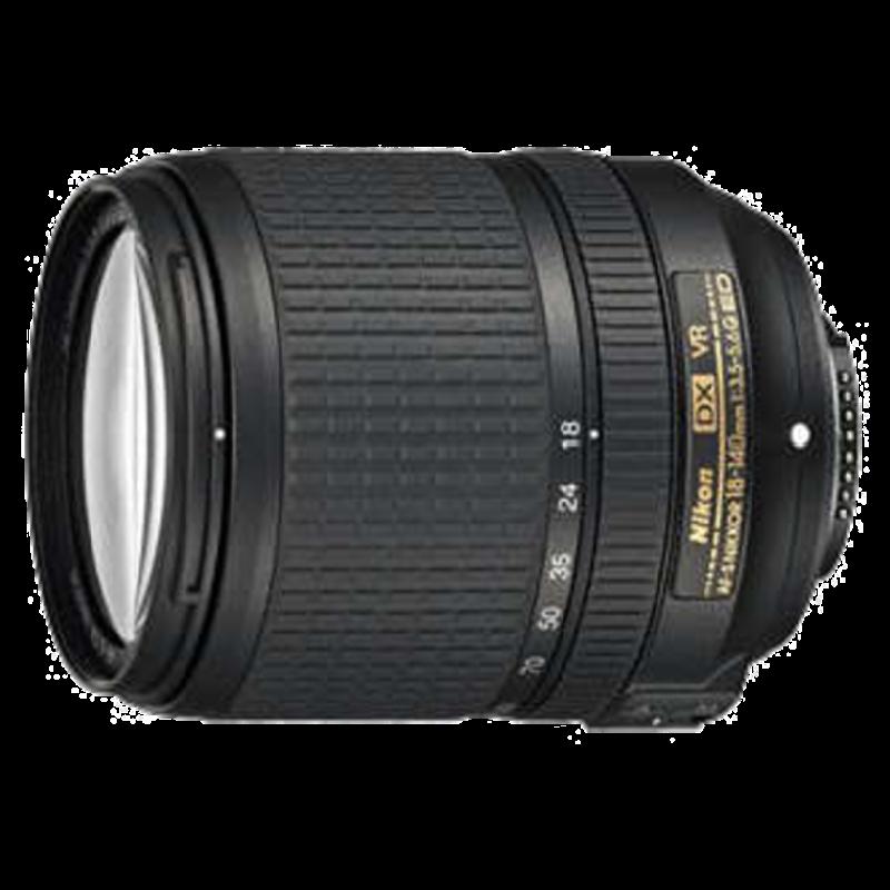 Nikon AF-S DX Nikkor 18-140 mm F3.5-F5.6 ED VR Lens (JAA819DA, Black)_1