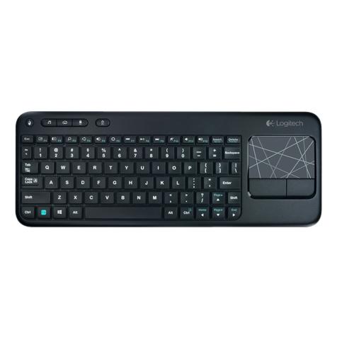 Logitech K400R Wireless Touch Keyboard (920-004598, Black)_1