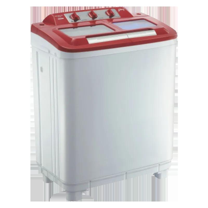 Godrej 6.5 kg Semi Automatic Top Loading Washing Machine (GWS6502PPC, Red)_1