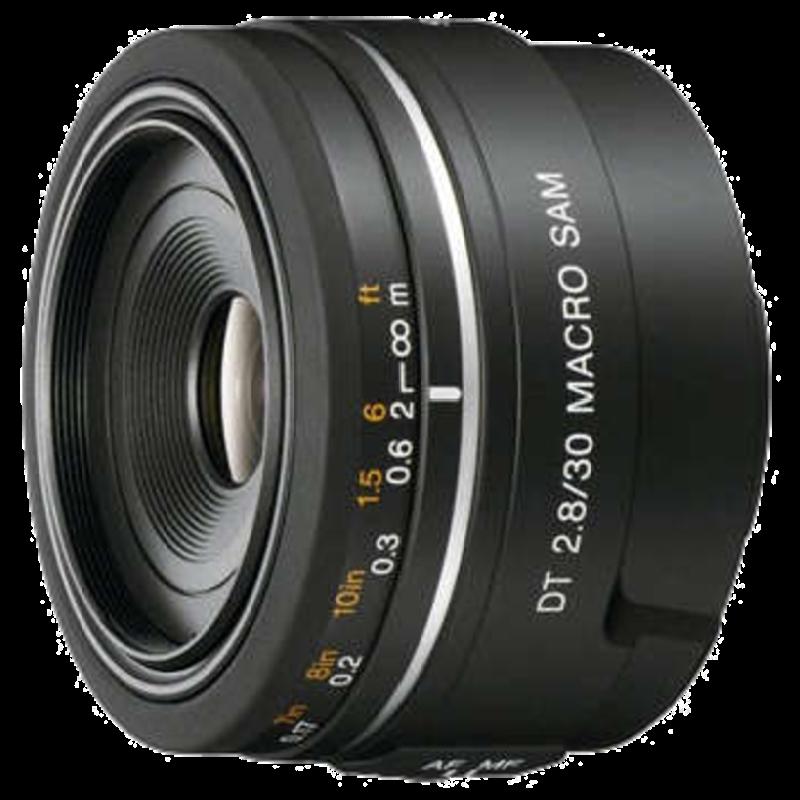 Sony SAL 30 mm F2.8 Macro SAM DSLR Lens (Black)_1