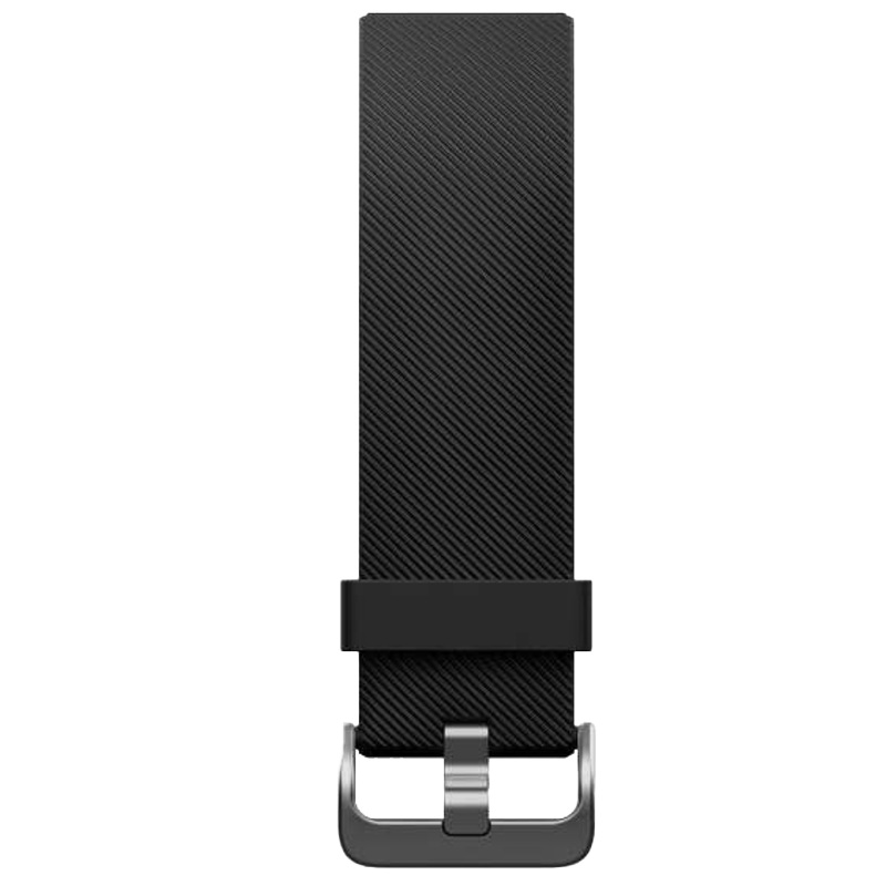 Fitbit Classic Buckle Closure Large Blaze Band (FB159ABBKL, Black)_1