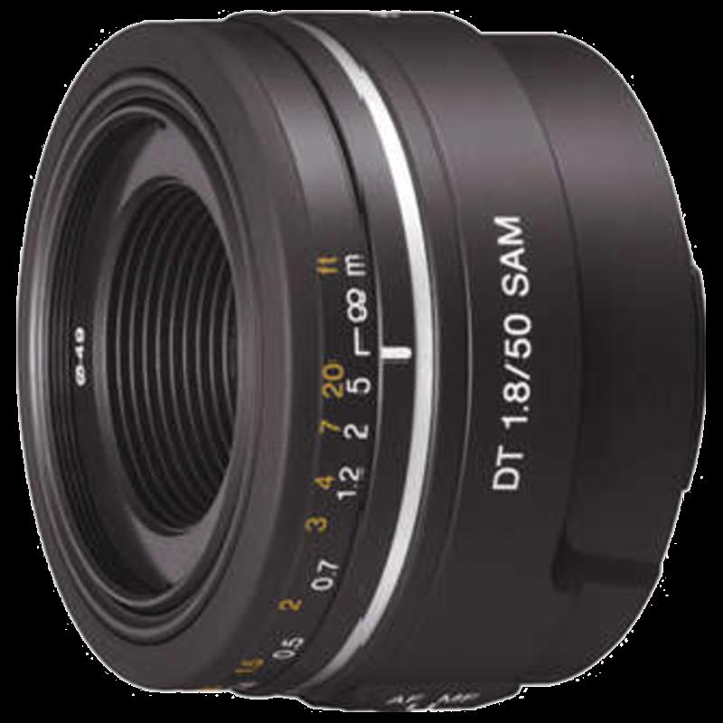 Sony SAL F1.8 50 mm DSLR Lens (Black)_1