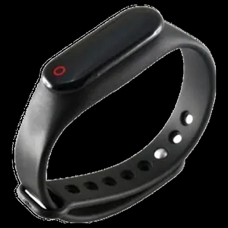 Merlin Actifit Lite Fitness Tracker (Sleep Monitor, PB ACTIFIT LITE, Black, Rubber Band)_1