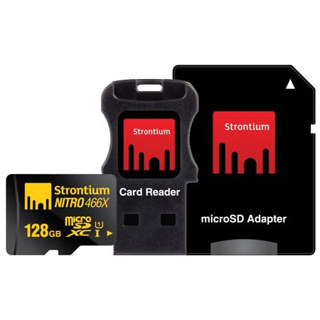 Strontium Nitro 128GB USB 2.0 OTG MicroSD Memory Card (STR3N1128, Black)_1