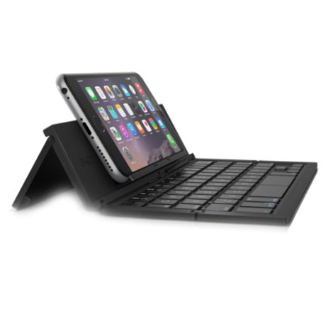 ZAGG Universal Phablet Keyboard for iOS and Android (UNIPOC-BKU, Black)_1