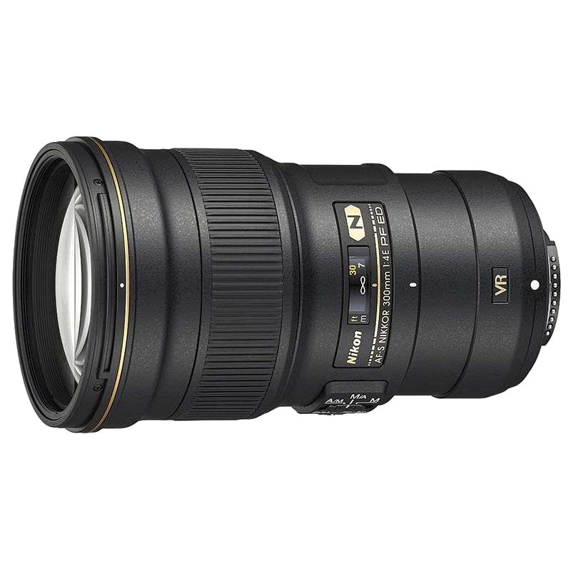 Nikon AF-S Nikkor 300 mm F4-F32 ED VR Lens (JAA342DA, Black)_1