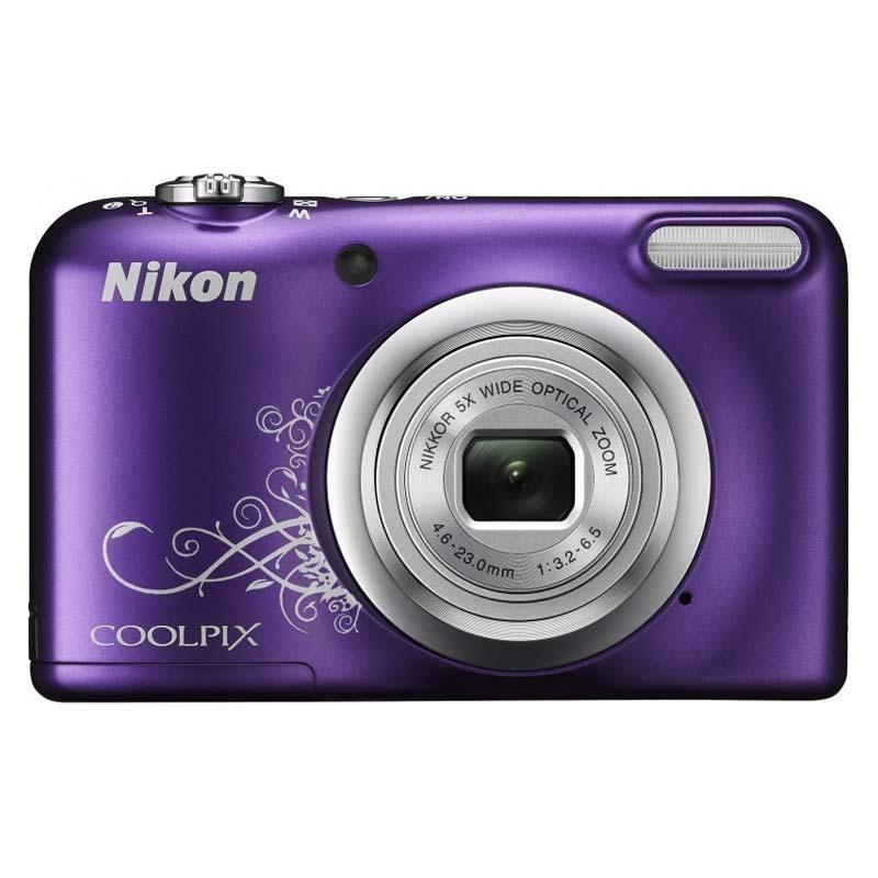 Nikon Coolpix 16.1 MP Point & Shoot Camera (A10, Purple)_1