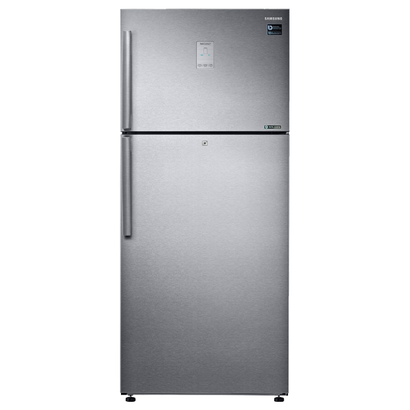 Samsung 551 Litres 2 Star Frost Free Inverter Double Door Refrigerator (5-in-1 Convertible, RT56K6378SL/TL, Real Stainless)_1