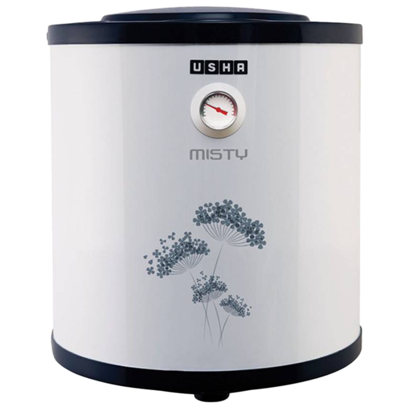 Usha Misty 15 Litres Vertical Storage Water Geyser (4687120158N, Twinkling Grey)_1