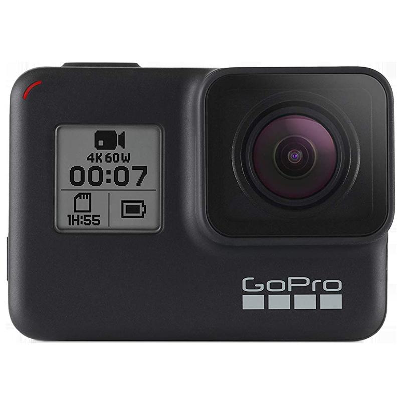 Go Pro Hero 7 10 MP Action Camera (CHDHC-601-RW, Black)_1