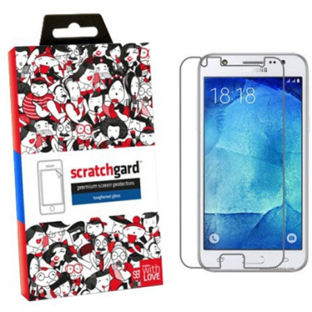 Scratchgard Tempered Glass Screen Protector for Samsung Galaxy J5 (Transparent)_1
