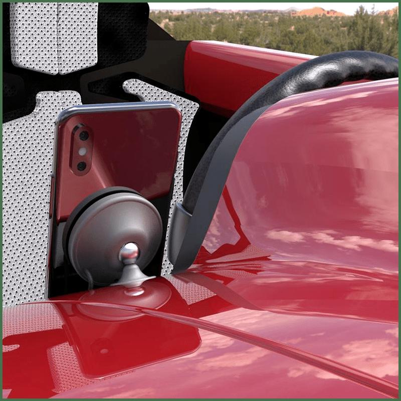 Fusechicken Gravity Auto Premium Wireless Car Charger (Black)
