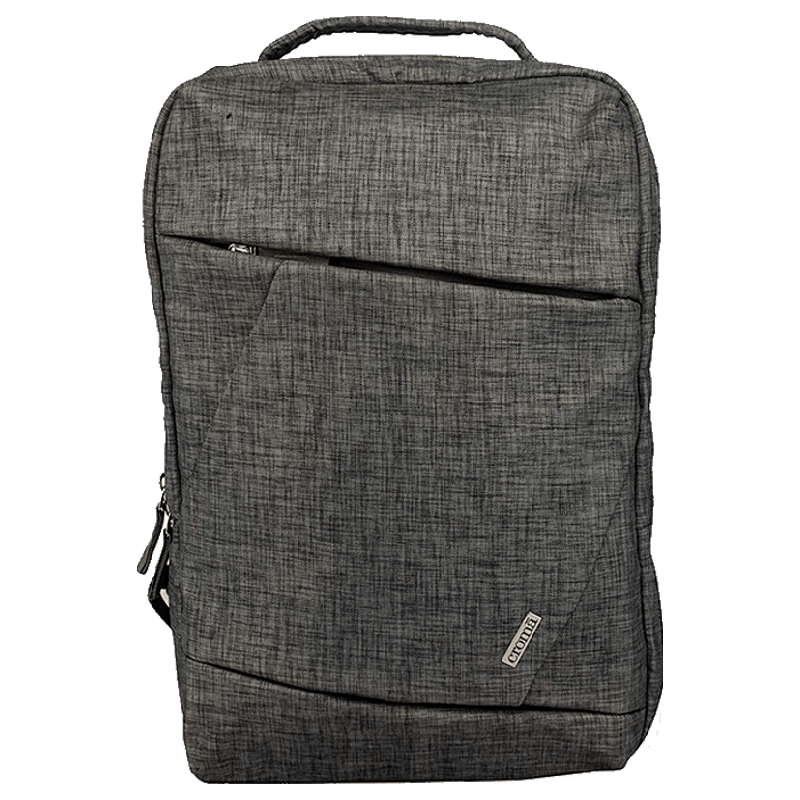 Croma Fabric Laptop Backpack (CRXL5202, Grey)_1