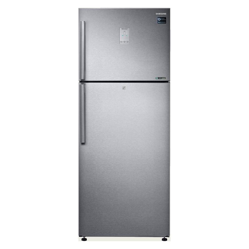 Samsung 465 L 3 Star Inverter Frost Free Double Door Refrigerator (RT47K6358SL/TL, Silver, Convertible)_1