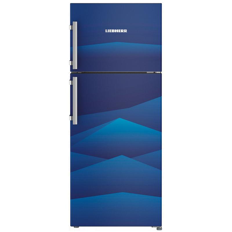 Liebherr 265 L 4 Star Frost Free Double Door Inverter Refrigerator (TCb 2640, Blue Landscape)_1