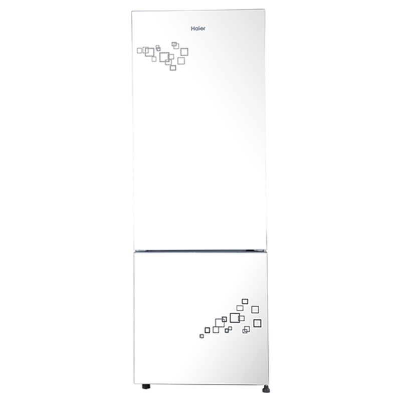Haier 320 Litres 2 Star Frost Free Inverter Double Door Refrigerator (Bottom Mount, Twist Ice Maker, HRB-3404PMG-E, Mirror Glass)_1