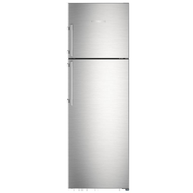 Liebherr 346 L 4 Star Frost Free Double Door Inverter Refrigerator (TCss 3540, Stainless Steel)_1