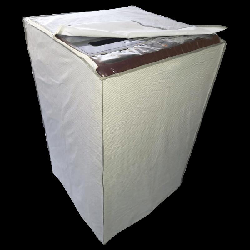 CNS Top Load 8-11 Kg Whirpool Washing Machine Cover (Grey)_1
