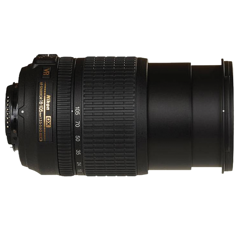Nikon AF-S DX Nikkor 18-105 mm F3.5-F5.6/F22 VR Lens (JAA805DE, Black)_1