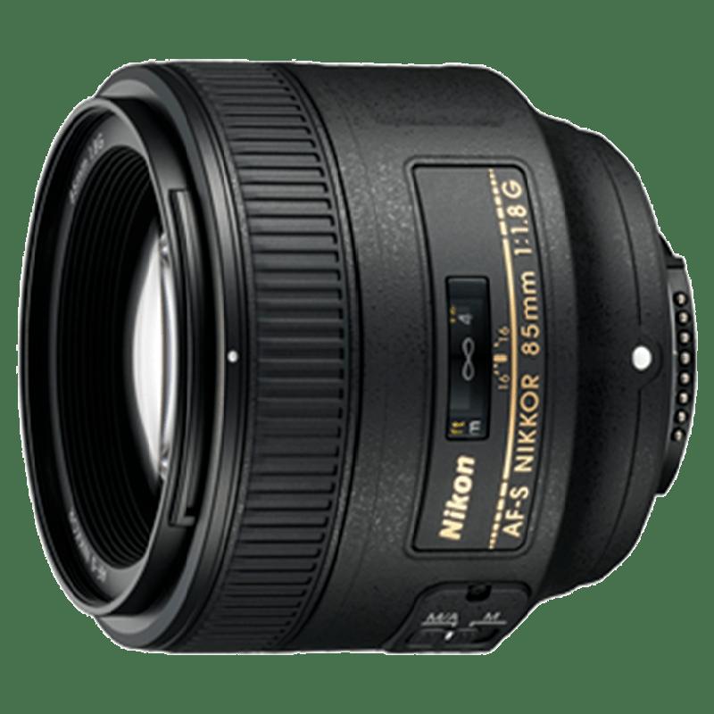 Nikon Nikkor Lens (AF-S 85 mm f/1.8G, Black)_1