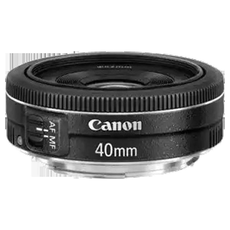 Canon EF STM Prime 40 mm F2.8-F22 Lens (Black)_1