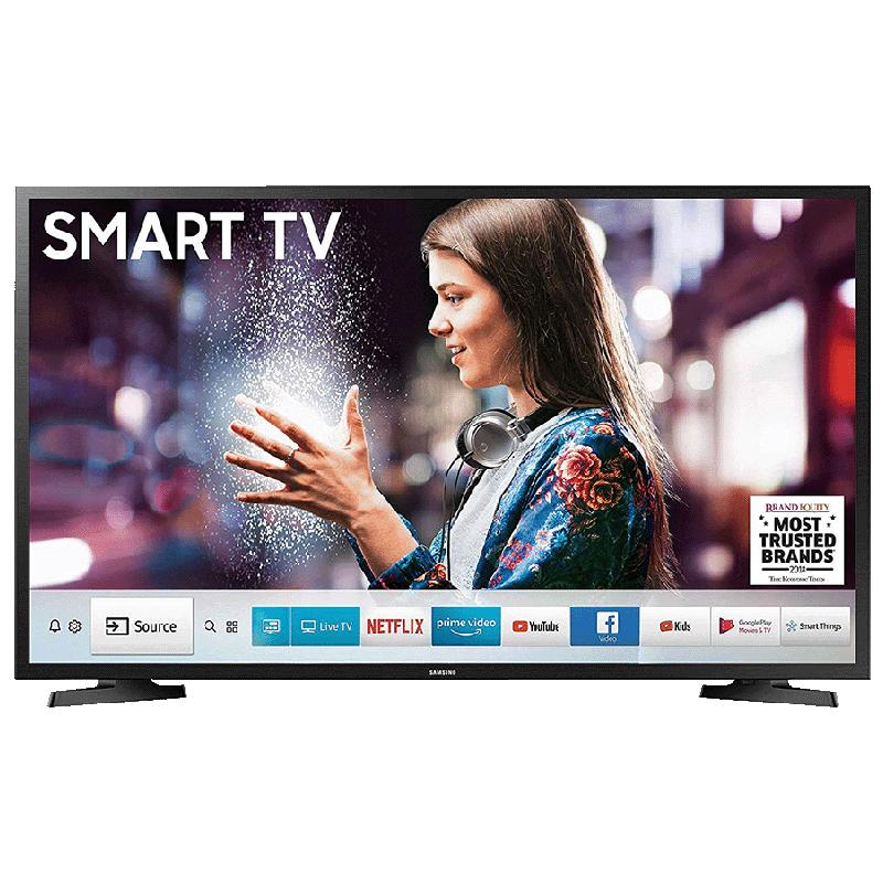 Samsung 80 cm (32 inch) HD Ready LED Smart TV (32N4300, Black)_1
