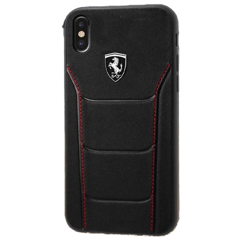Buy Ferrari Leather Hard Back Case Cover for Apple iPhone X (SW ...