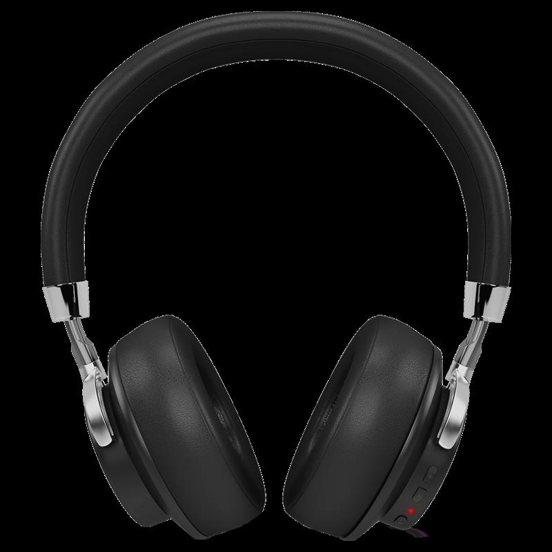 Itek Voice Enabled Wireless Bluetooth Stereo Headphone (Black)_1