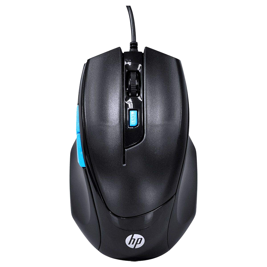 HP M150 1600 DPI Wired Gaming Mouse (Black)_1