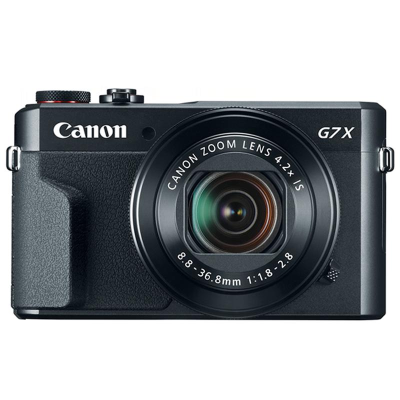Canon PowerShot 20.1 MP Point & Shoot Camera (G7 X Mark ii, Black)_1