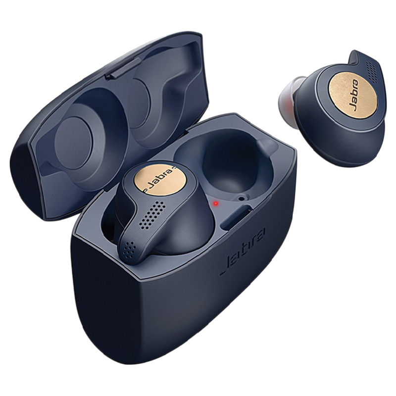 Jabra Elite 65t In-Ear Passive Noise Cancellation Truly Wireless Earbuds with Mic (Bluetooth 5.0, 100-99010000-40, Copper Blue)_1