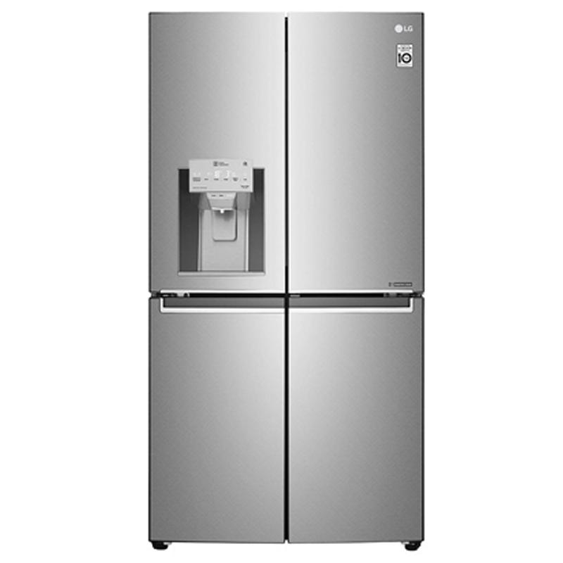 LG 889 Litres 3 Star Frost Free Side-By-Side Inverter Refrigerator (GR-J31FTUHL, Silver)_1