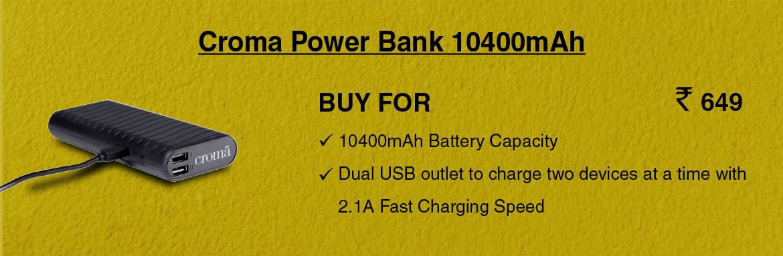 Croma Powerbank