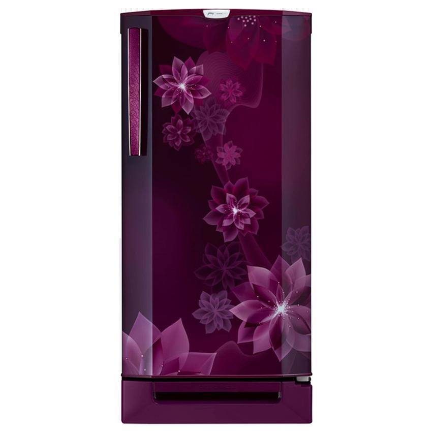 Godrej 190 L 3 Star Direct Cool Single Door Refrigerator (RD EDGE PRO 205 TDF 3.2, Magenta)_1