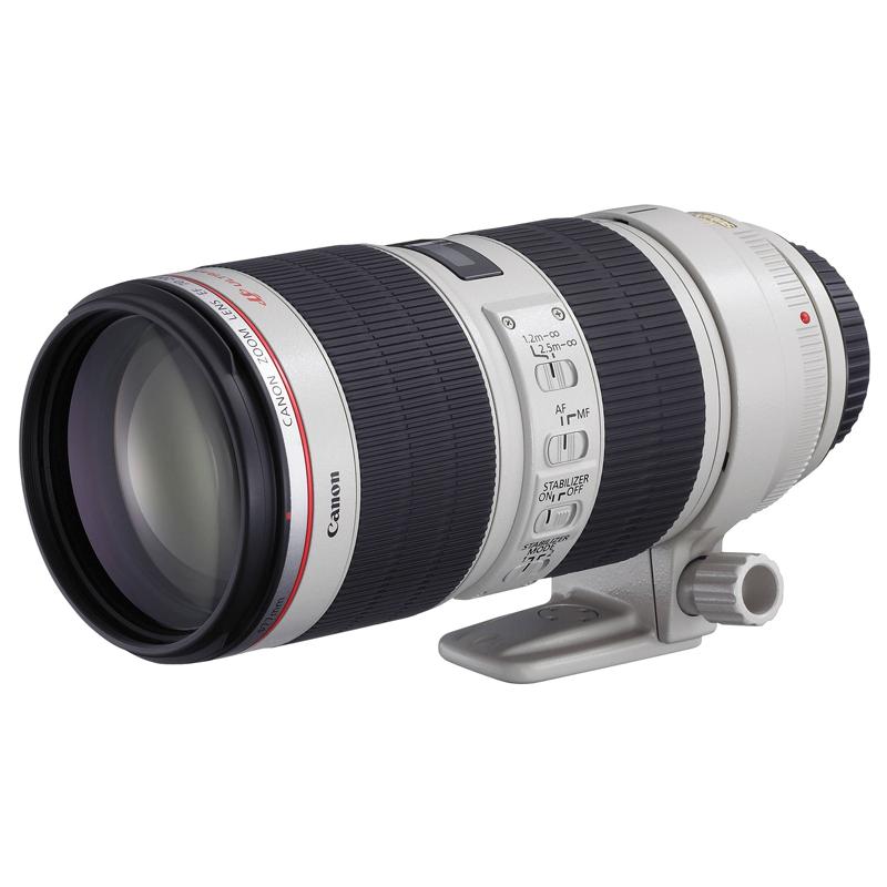 Canon L Series 70-200 mm F2.8 IS II USM Telephoto Zoom Lens (Black)_1