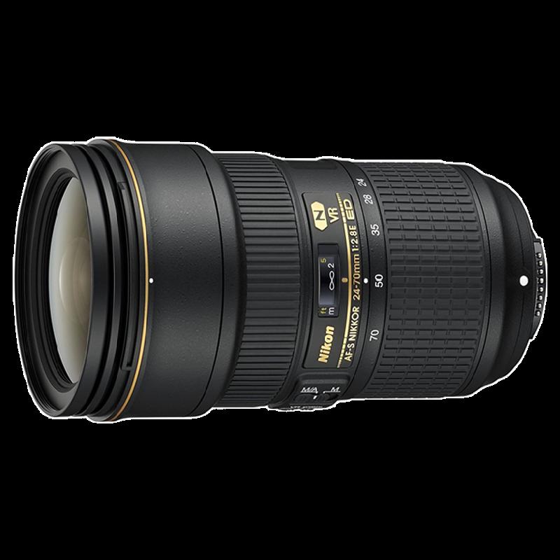 Nikon AF-S Nikkor 24-70 mm F2.8-F22 ED VR Lens (Black)_1