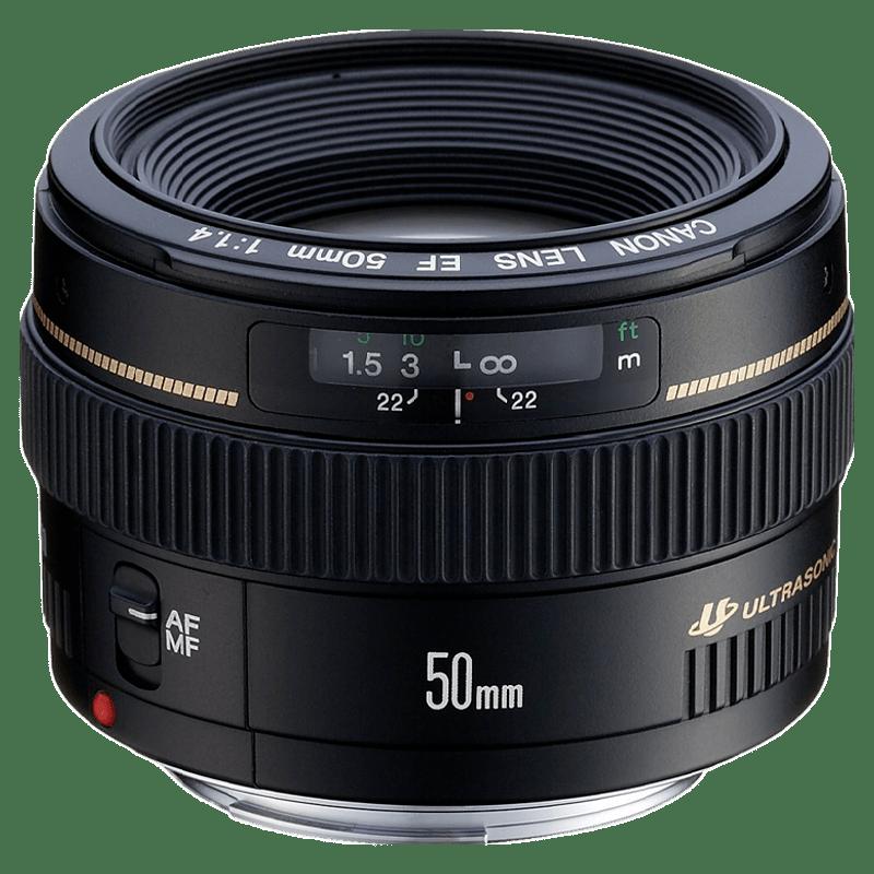 Canon EF USM 50 mm F1.4 DSLR Lens (Black)_1