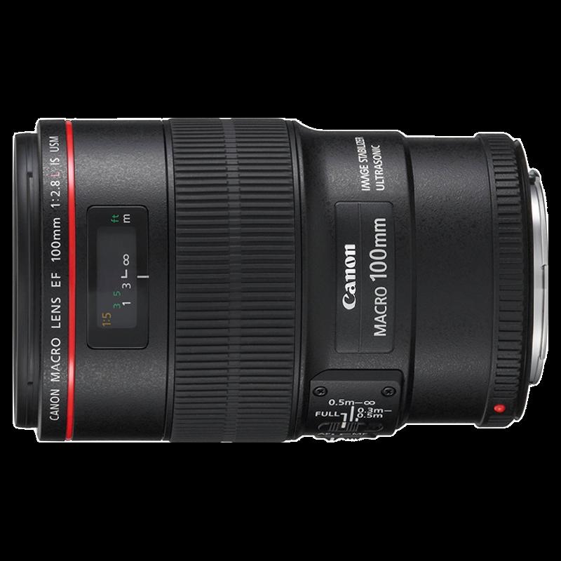 Canon EF Prime 100 mm F2.8-F32 Macro IS USM Lens (Black)_1