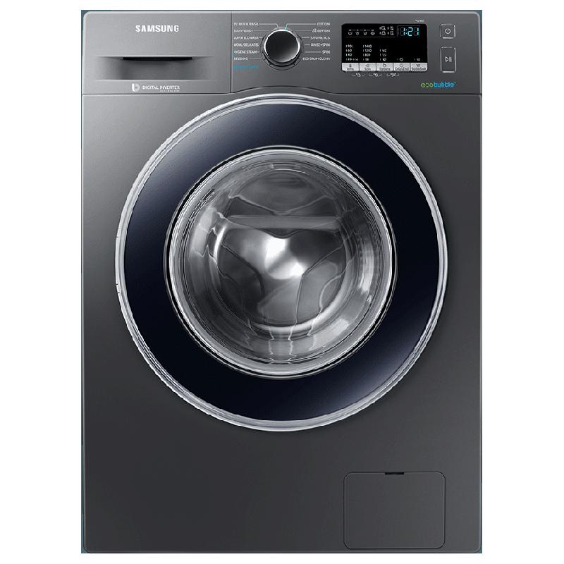 Samsung 7 kg 5 Star Fully Automatic Front Load Washing Machine (Hygiene Steam, WW71J42E0BX/TL, Inox)_1