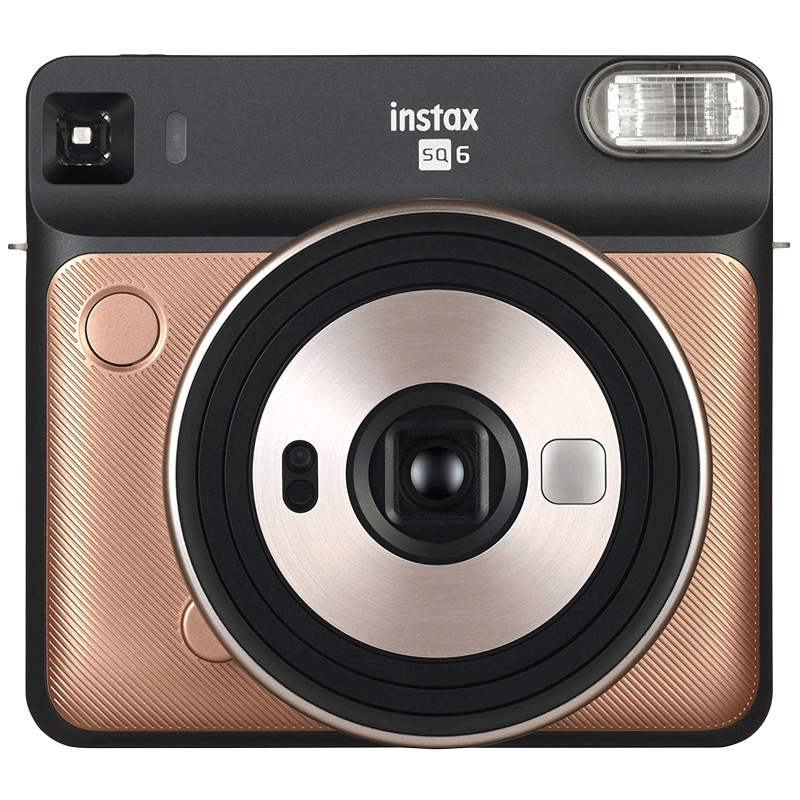 Fujifilm Instax Square SQ6 Instant Camera (Automatic Exposure Control, Blush Gold)_1