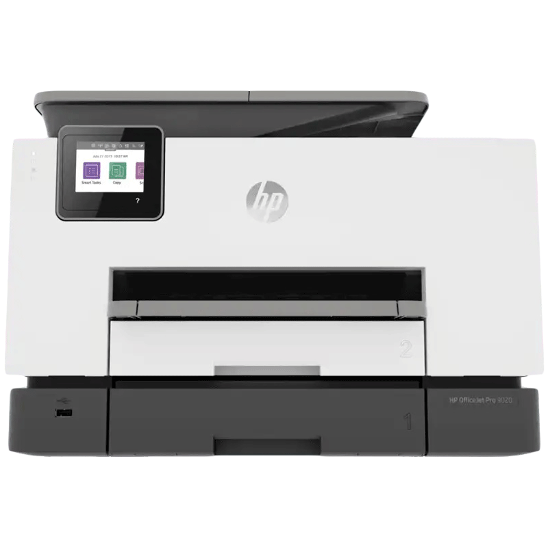 HP Officejet Pro 9020 Wireless Color All-in-One Inkjet Printer (Automatic Document Feeder, 3UK98D, White)_1